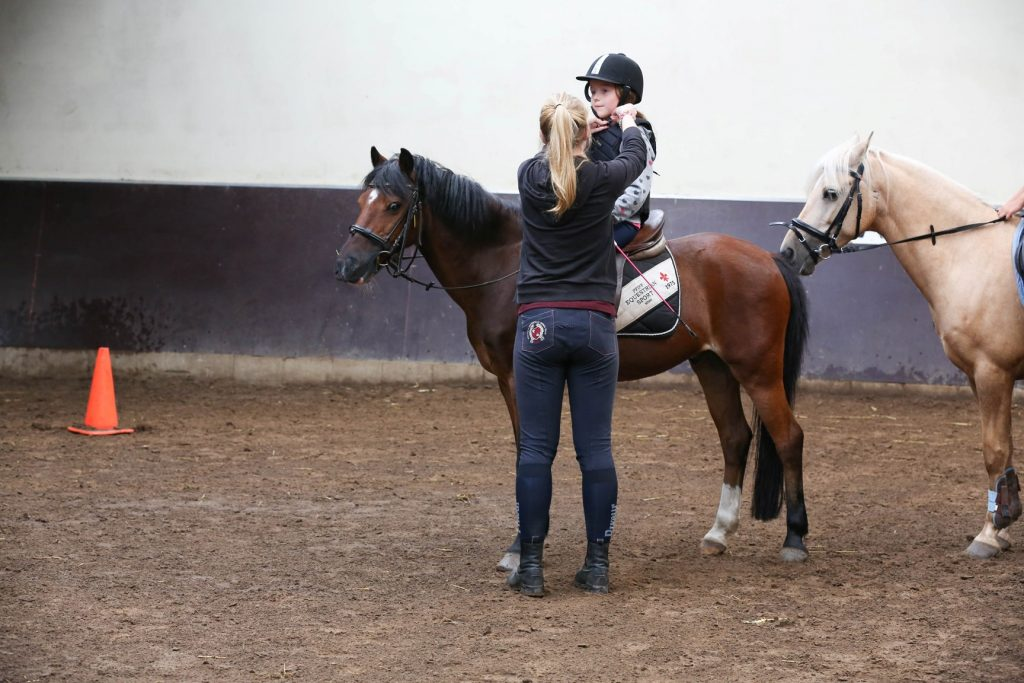 Paardrijlessen manege De Hazelhorst